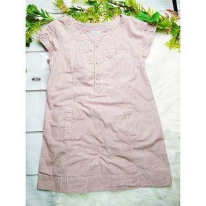 UO KIMCHI BLUE • STRIPED COTTON SHIFT DRESS • M